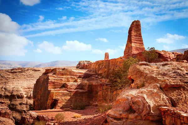 Desert View Tower Photograph - Jordanian Desert by Alexey Stiop