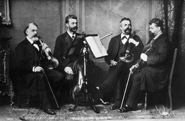 Photograph - Joseph Joachim (1831-1907) by Granger