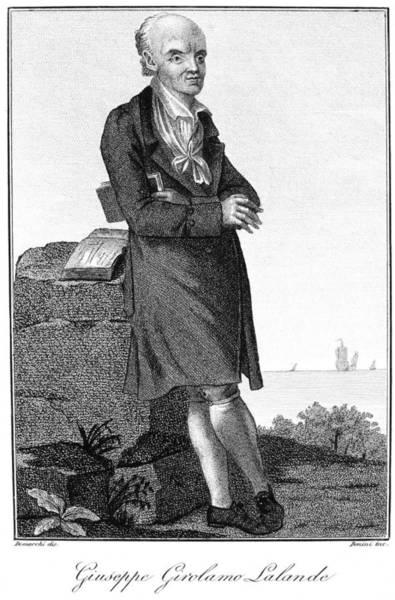 Francaise Painting - Joseph Lalande (1732-1807) by Granger