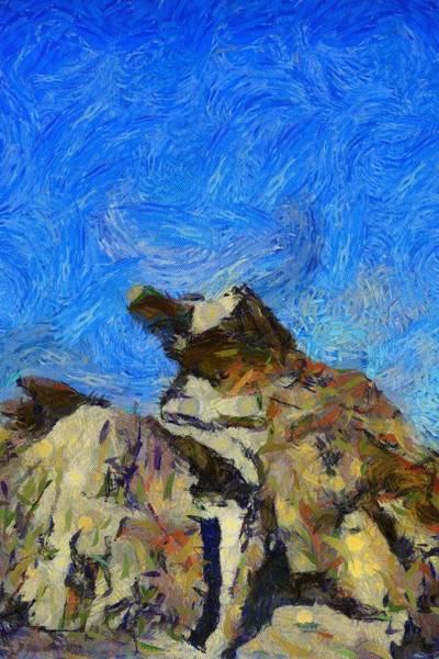 Mound Digital Art - Joshua Tree Monster Rock by Barbara Snyder