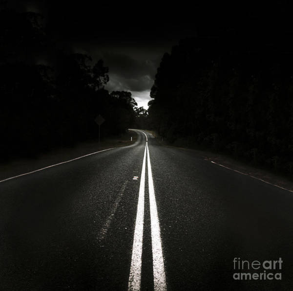 Straight Ahead Wall Art - Photograph - Journey Of Distance by Jorgo Photography - Wall Art Gallery