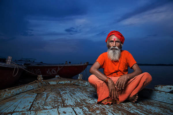 Ganges River Photograph - Journey Of Life by Fadhel Almutaghawi