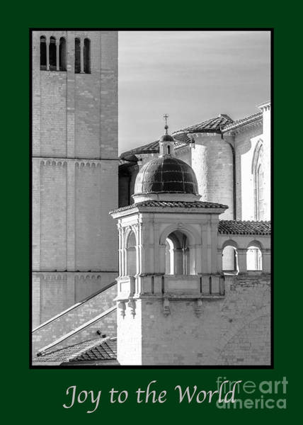 Photograph - Joy To The World With Basilica Details by Prints of Italy