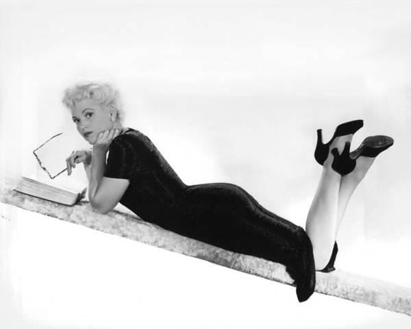 Yesterday Photograph - Judy Holliday In Born Yesterday  by Silver Screen