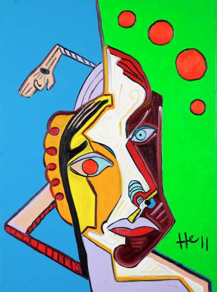 Painting - Juggler by Hans Magden