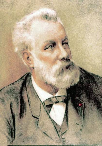 Jules Verne Wall Art - Photograph - Jules Verne by Collection Abecasis/science Photo Library
