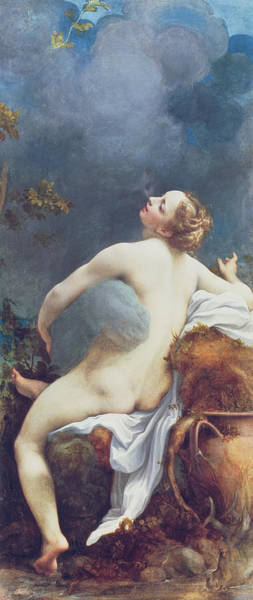 Wall Art - Painting - Jupiter And Io by Correggio
