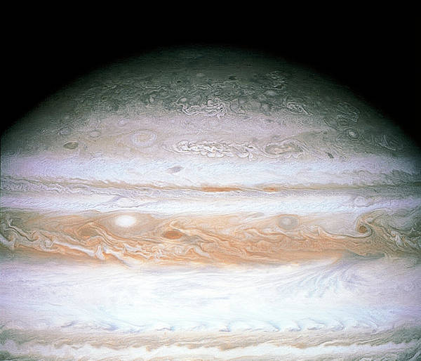 Flyby Photograph - Jupiter by Nasa/science Photo Library