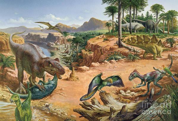 Photograph - Jurassic Landscape by Publiphoto