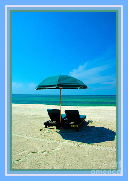 Photograph - Just You And Me And The Beach by Susanne Van Hulst