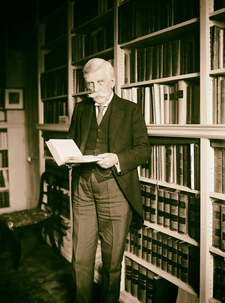 Oliver Photograph - Justice Oliver Wendell Holmes 1924 by Mountain Dreams