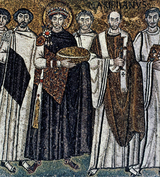 Painting - Justinian I (483-565) by Granger