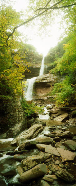 Catskill Photograph - Kaaterskill Falls In Autumn, New York by Panoramic Images