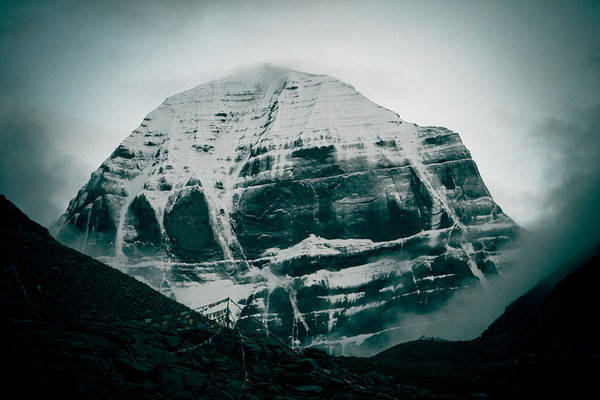 Photograph - Kailas Mountain Tibet Home Of The Lord Shiva by Raimond Klavins