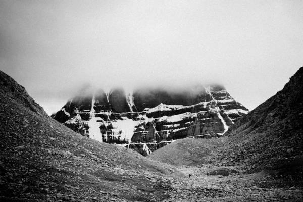 Photograph - Kailash Mountain North Slope by Raimond Klavins