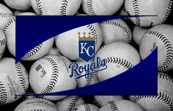 Outfield Wall Art - Photograph - Kansas City Royals by Joe Hamilton