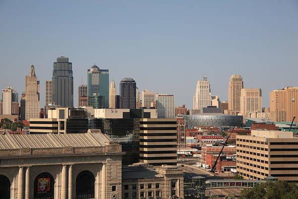 Photograph - Kansas City Skyline by Frank Romeo