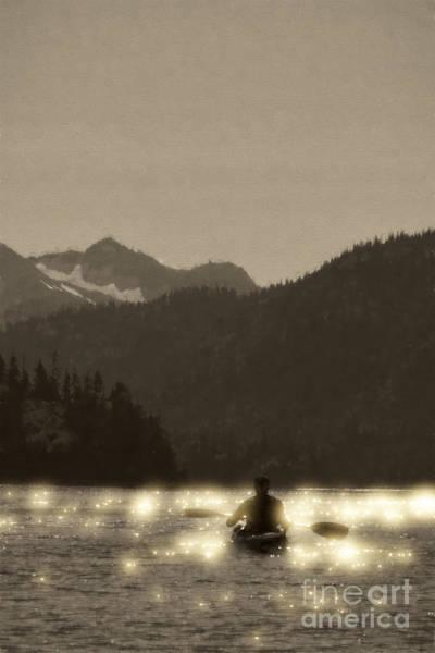 Photograph - Kayaking On Kachemak Bay by Dan Friend
