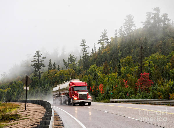 Photograph - Keep On Trucking by Les Palenik