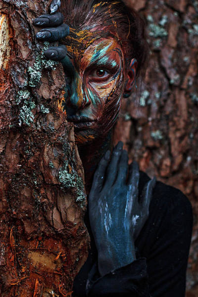 Wall Art - Photograph - Keeper Of The Wood by Ivan Kovalev
