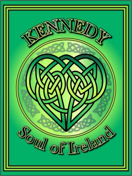 Wall Art - Digital Art - Kennedy Soul Of Ireland by Ireland Calling