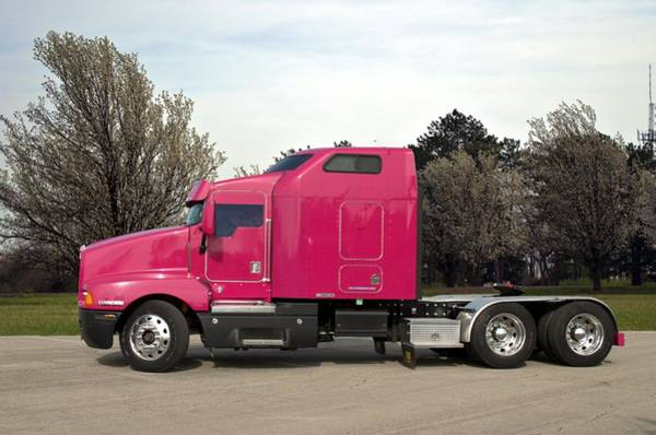 Photograph - Kenworth T600 Semi Truck by Tim McCullough