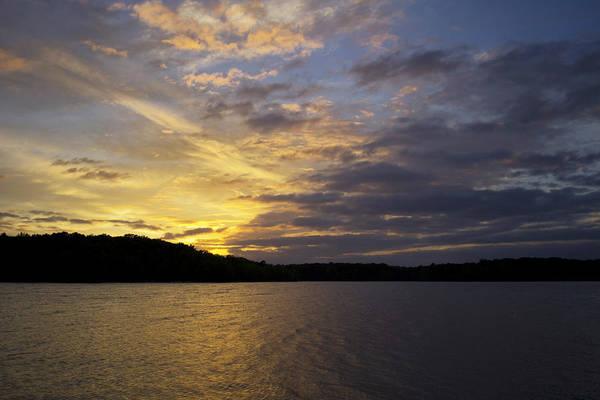 Photograph - Kerr Lake Evening II by Ben Shields