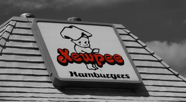 Thru Photograph - Kewpee Restaurant by Dan Sproul