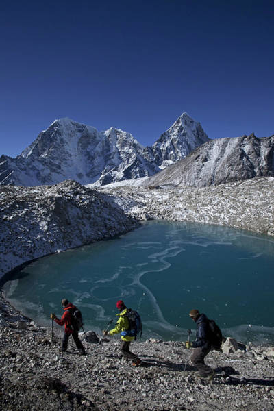 Khumbu Wall Art - Photograph - Khumbu by Mario Colonel