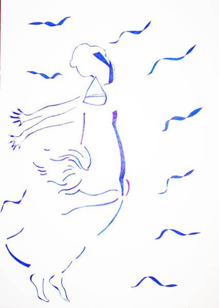 Painting - Kiganda Dance  by Gloria Ssali