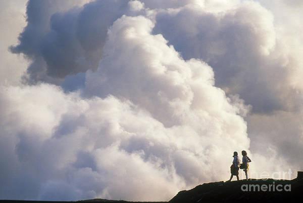 Photograph - Kilauea Eruption, Hawaii by Mark Newman