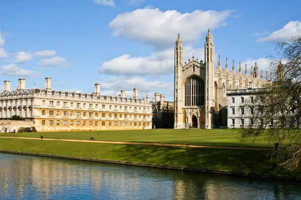 Old Wall Art - Photograph - Kings College Cambridge by Tom Gowanlock