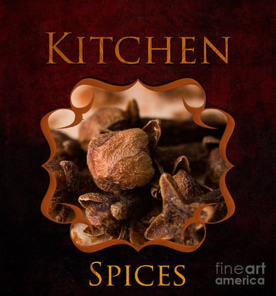 Weihnachten Photograph - Kitchen Spices by Iris Richardson