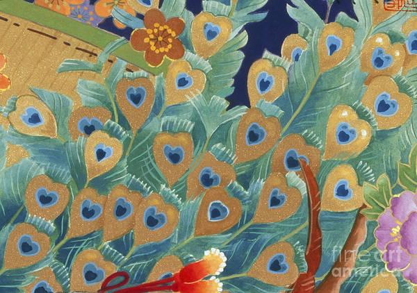 Kimono Digital Art - Kogane by MGL Meiklejohn Graphics Licensing