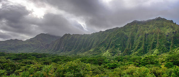 Photograph - Koolau Waterfalls by Dan McManus