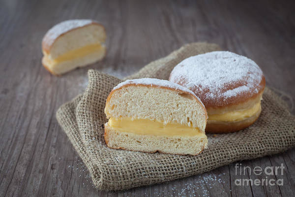 Krapfen Wall Art - Photograph - Krapfen by Sabino Parente
