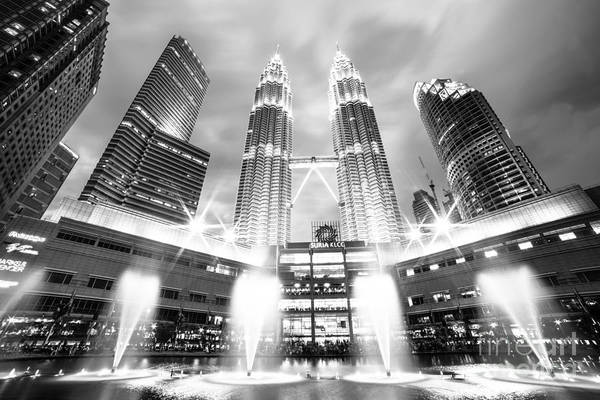 Photograph - Kuala Lumpur City Center by Didier Marti