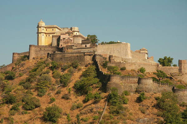 Fortification Photograph - Kumbhalgar Fort, Kumbhalgarh by Inger Hogstrom