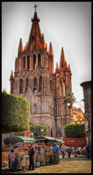 Photograph - La Parroquia by Barry Weiss