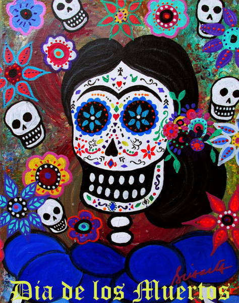 Painting - Lady Frida by Pristine Cartera Turkus
