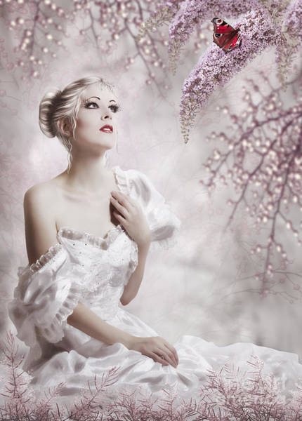 Loneliness Digital Art - Lady by Svetlana Sewell