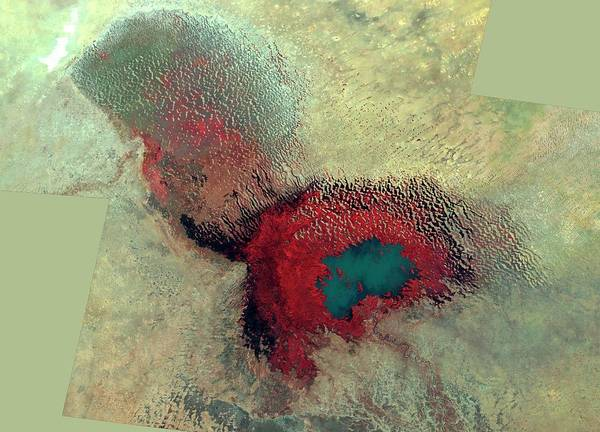 Nigeria Wall Art - Photograph - Lake Chad by Nasa/science Photo Library