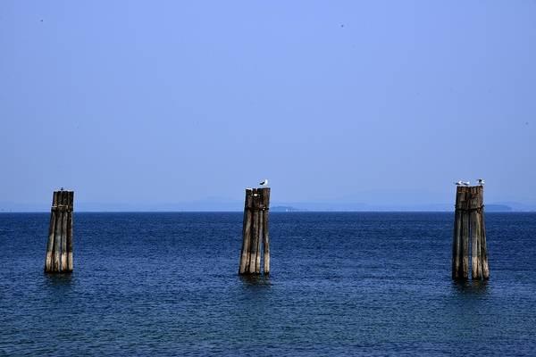 Photograph - Lake Champlain by Walt Sterneman