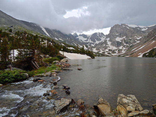 Photograph - Lake Isabelle by Dan Miller