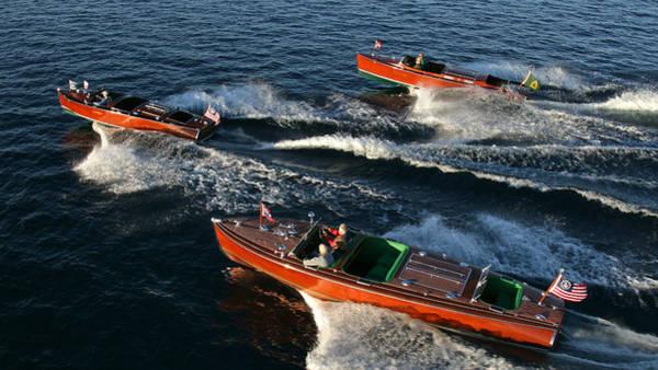 Photograph - Lake Tahoe Wooden Boats by Steven Lapkin