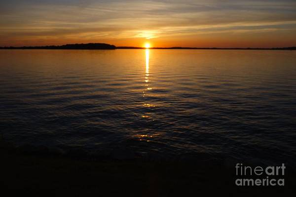 Photograph - Lake Waconia Regional Park Sunset  by Jacqueline Athmann