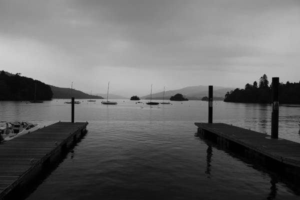 Stormcloud Photograph - Lake Windermere by Martin Newman