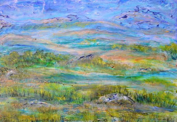 Painting - Landscape After Rassuman by Regina Valluzzi