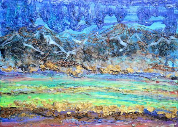 Painting - Landscape Layers by Regina Valluzzi