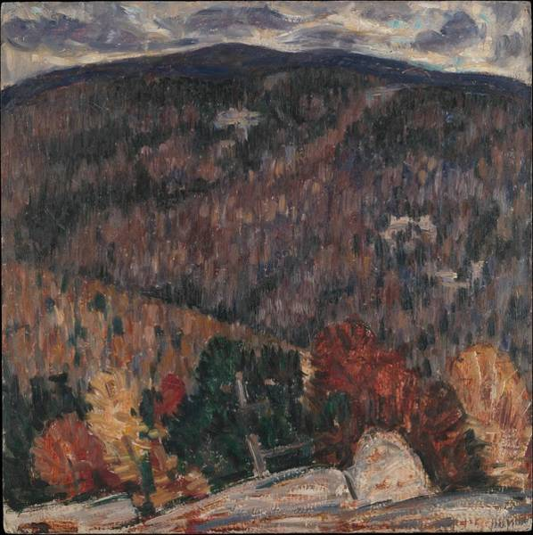 Central America Painting - Landscape No. 25 by Marsden Hartley